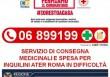 Servizio di consegna medicinali e spesa