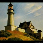 Edward Hopper: lighthouse at two lights