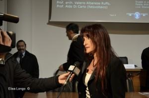 Monica Melani intervistata dal TGR