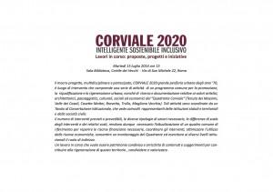 Corviale 2020 Invito