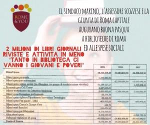 3 milioni di euro in meno