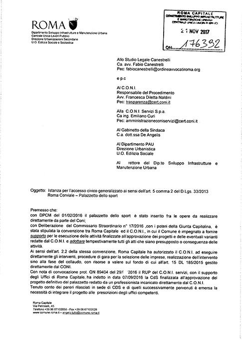 Risposta Dipartimento Sviluppo del 21.11.17 clicca sull'immagine per consultare il documento integrale